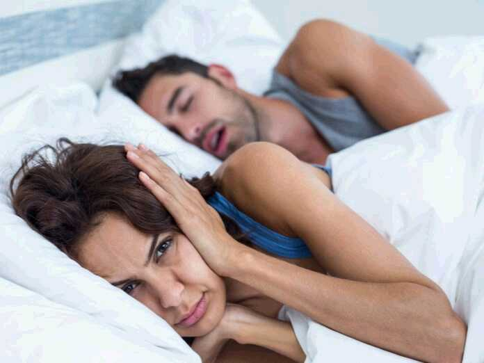 Snoring could be a sign of future memory loss