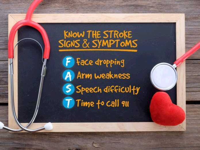 recognize the symptoms of stroke