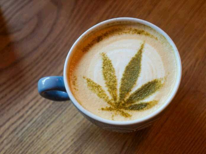 Coffee and cannabis affect the brain